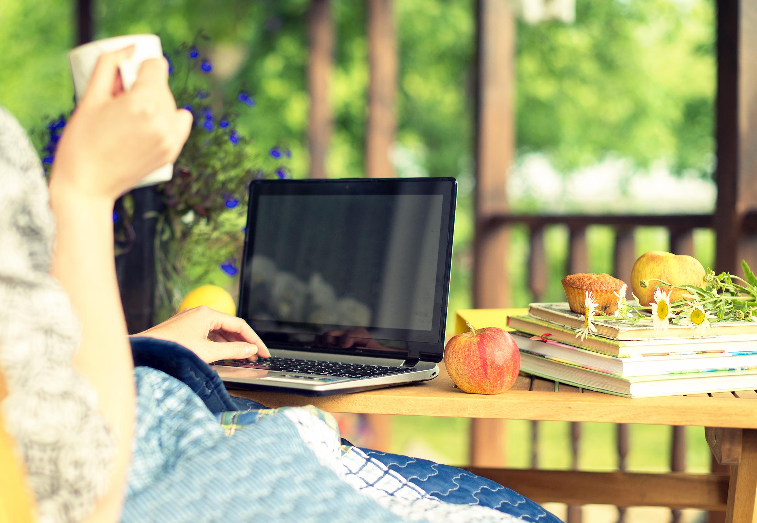 Wifi particulier thuis tuin terras buiten weefree